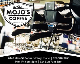 Bonners Ferry Business Mojo's Coffee