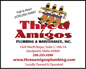 Sandpoint Business Three Amigos Plumbing
