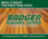 Badger Building Center
