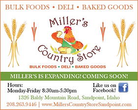 Sandpoint Business Miller's Country Store