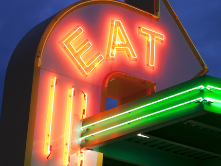 Neon Nights Dine & Drive in the Garland District