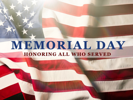 Remembering All Who Served and Sacrificed this Memorial Day