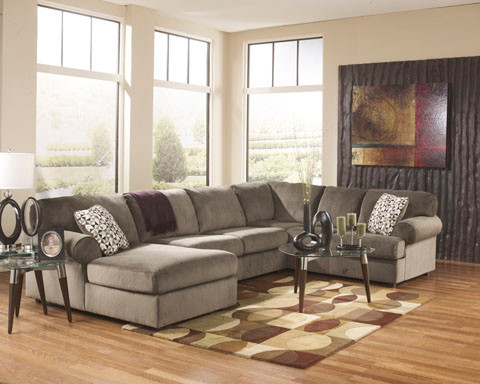 Jessa Place Sectional Ashley Living Room