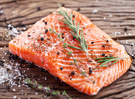 Parsley, Sage, Rosemary and Thyme Roasted Salmon