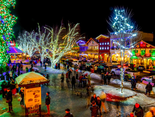 Village Shines Bright in Leavenworth, Washington