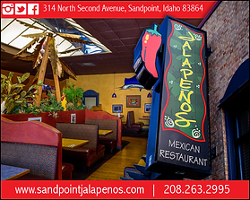 Sandpoint Business Jalepenos Mexican Restaurant