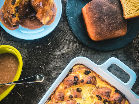 Irish Bread & Butter Pudding