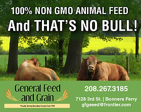 Bonners Ferry Business General Feed and Grain