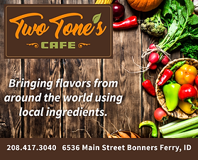 Bonners Ferry Business Two Tons Cafe