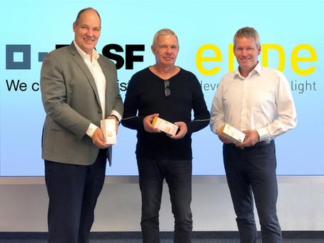 BASF bringt mit EMDE development of light innovative LED-Sunvue®-Technik auf den europäischen Markt