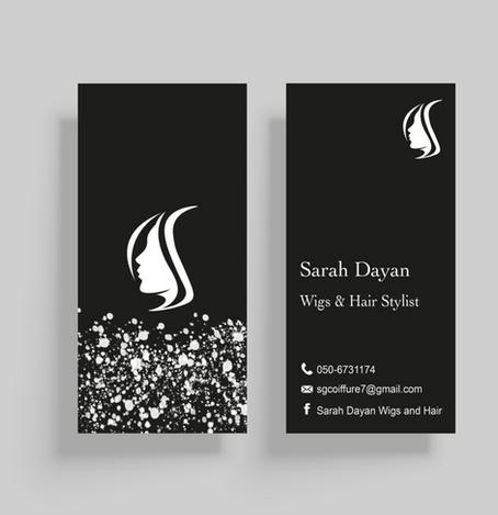 Sarah Dayan Visit Card