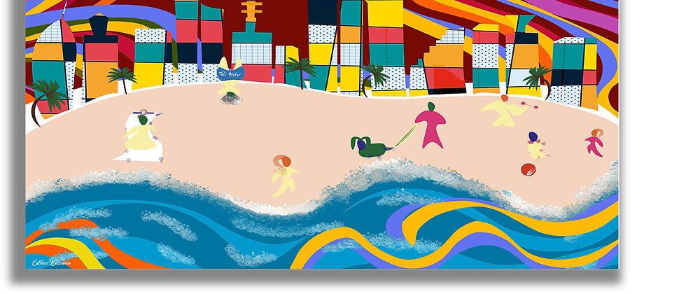 Tel Aviv Abstract