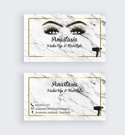 Make-up Visit Card