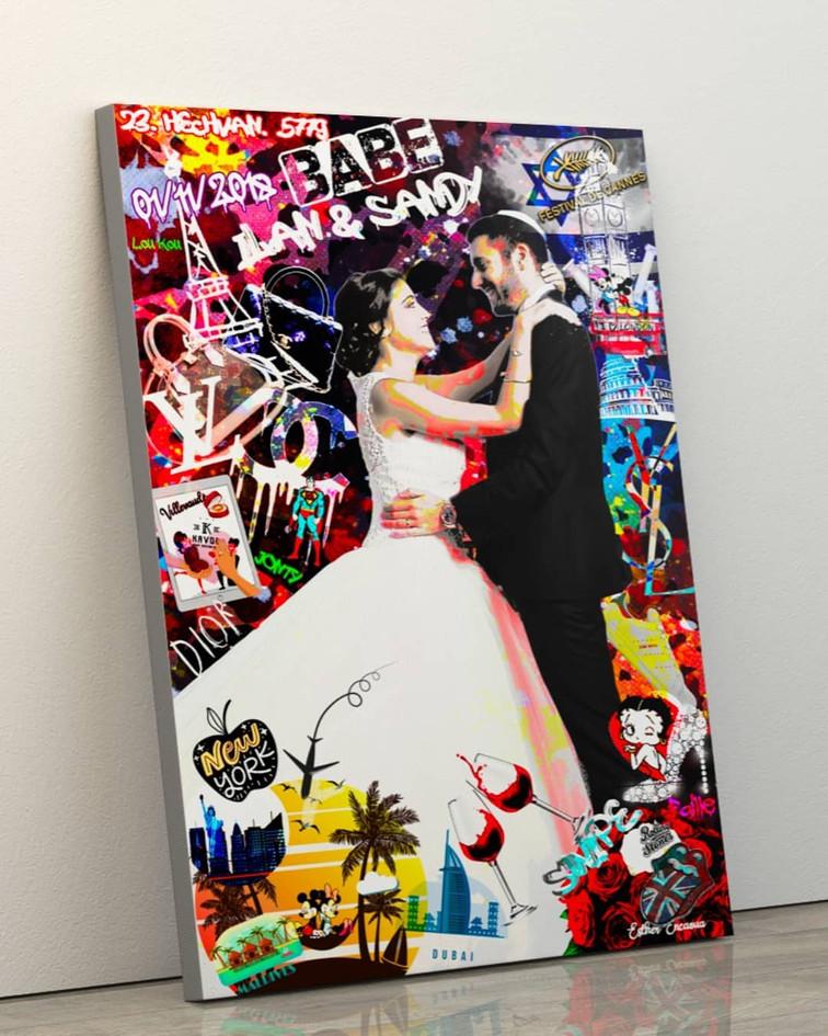 Mariage Pop Art