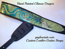 Hand Painted Chinese Dragon