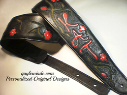 Gayle Winde Custom Guitar and Bass Straps