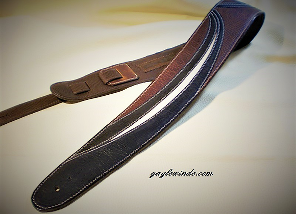"""Triple Play"" - Stylized Leather Tricolor"