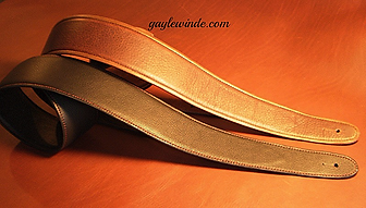 Custom Guitar & Bass Straps - Solid Colors