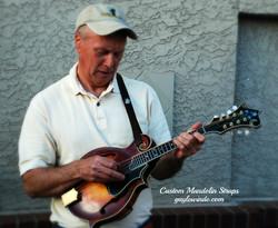 Gayle Winde Custom Mandolin Straps
