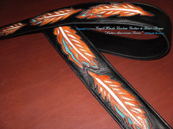 Native American Series_OriginalArtisan Leather Guitar Straps