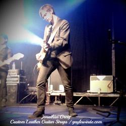 Custom Guitar Strap - Jonathan Greig