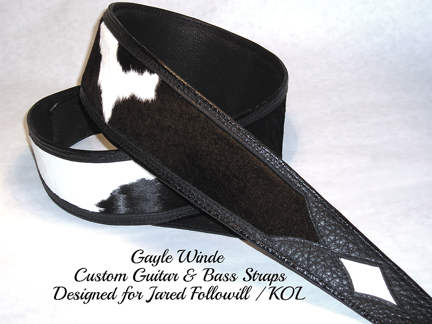 gaylewinde.com - Custom Leather Bass Strap _ KOL