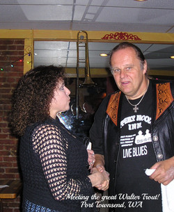 Meeting the Great Walter Trout