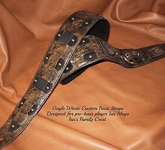 Custom Leather Guitar Straps / Gayle Winde / Nashville, TN