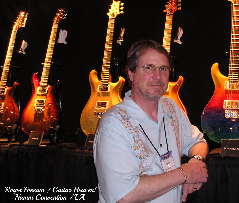 Roger Fossum / Namm Convention / LA