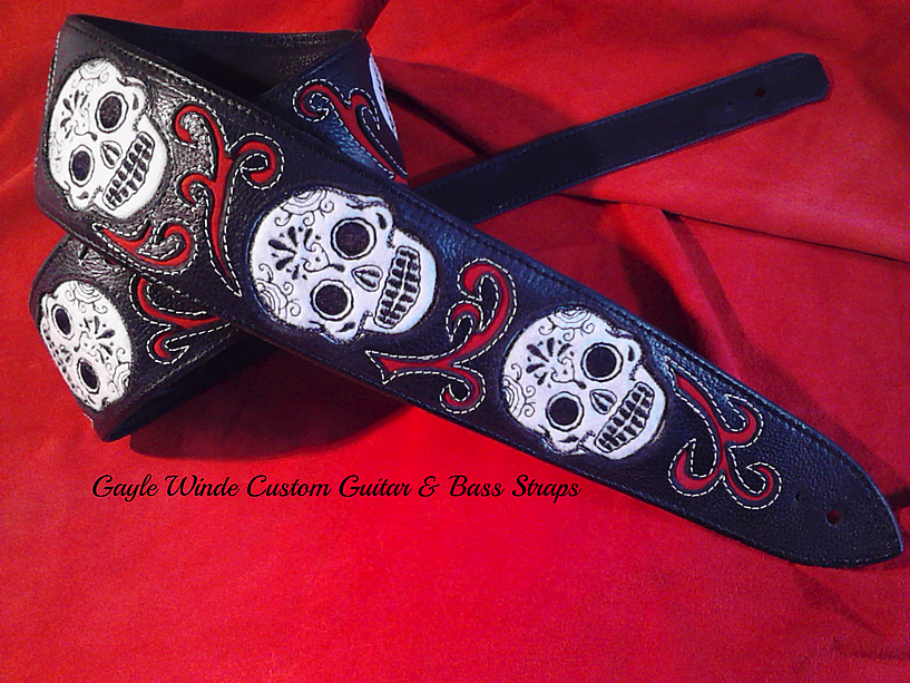Sugar Skulls - Custom Inlay