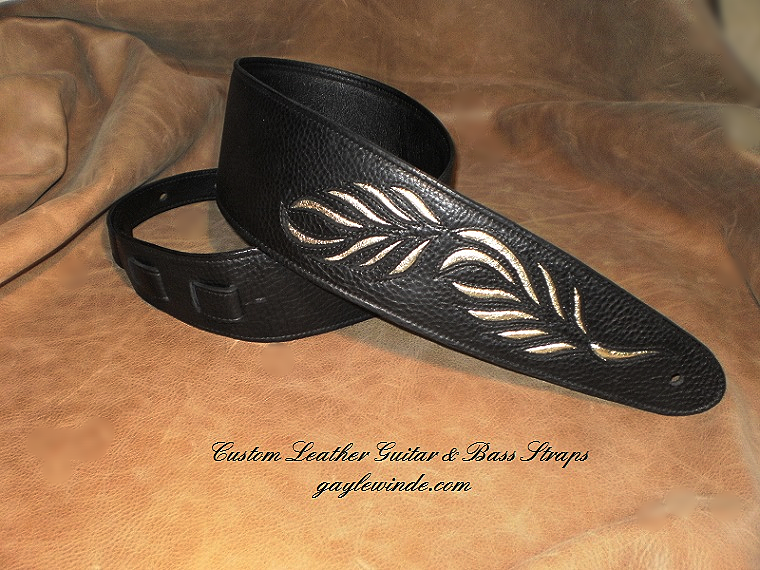 Intricate Inlay - Metallic Lambskin