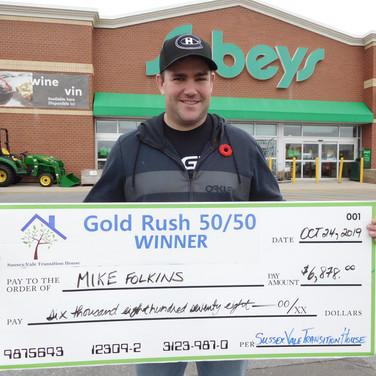 Mike Folkins $6,898.00