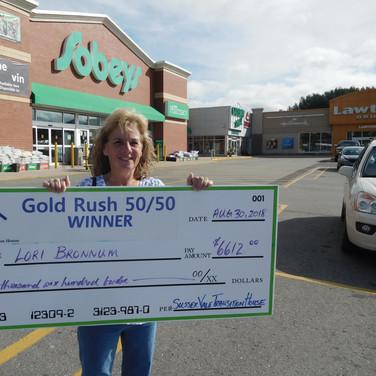 Lori Bronnum, $6,612.00