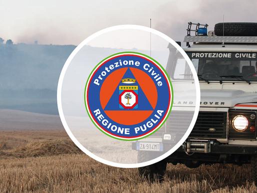 Reportage incendio a Minervino