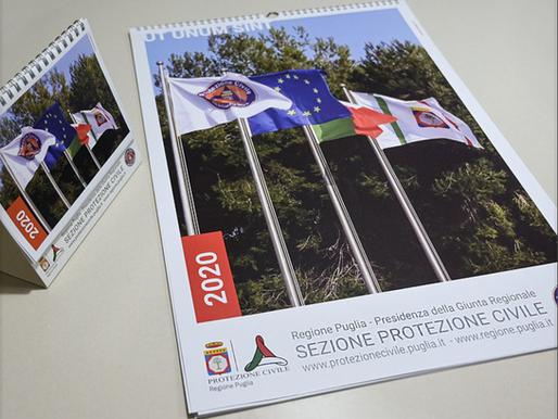 Calendario ufficiale 2020 di Protezione Civile Puglia