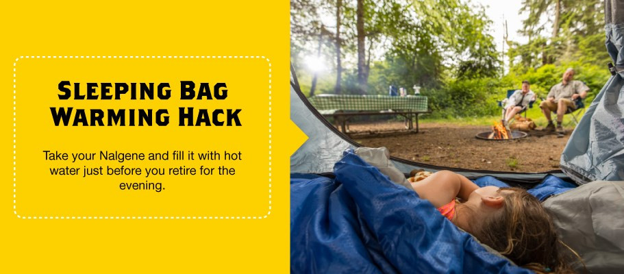 Warm-Your-Sleeping-Back-with-this-Camping-Hack