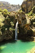 Cascada de las Calaveras.