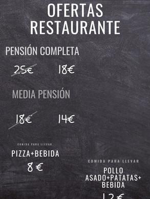 Oferta restaurante