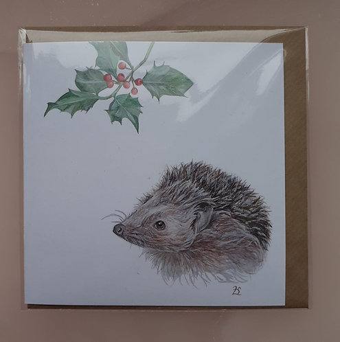 The Hedgehog - Christmas collection 1 of 4