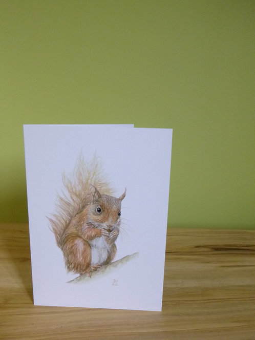 'Little Red' Greeting Card