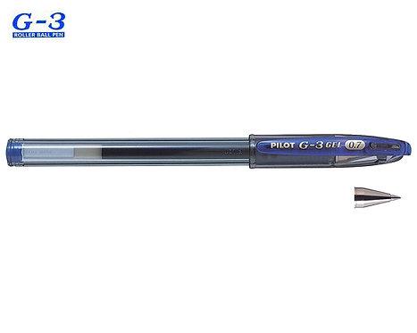 PILOT ΣΤΥΛΟ G-3 0.7mm ΜΠΛΕ