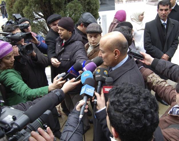 Pressekonferenz Baku