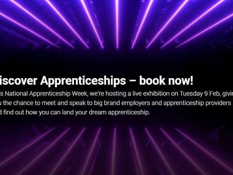 National Apprenticeship Week (All years, Mon 8th Feb - Fri 12th Feb)