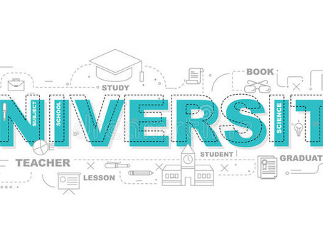 What to do now you think UNIVERSITY may be for you ... (yr 12 & 13, 23rd Sept 3.30pm)