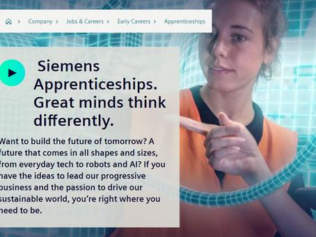 Siemens Fast-track Apprenticeships NOW OPEN (Yr 11 - 13, Apply now Oct/Nov 2021)