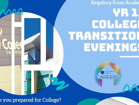 New College Swindon Transition Evening Recording (Yr 11, June 2021)
