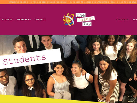 Talent Tap London & Manchester Work Experience (Yr 12, 2 weeks during Summer 2022)