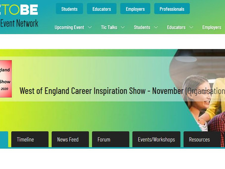 West of England Career Inspiration Show (Wed 25th Nov 9-6pm, All years)