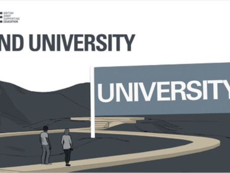 Fund University with the British Army Virtual Event (Yr 12 & 13, Wed 31st March, 6-7pm)