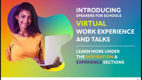 Virtual Work Experience - Speakers for Schools (Yr 10+, April to August)